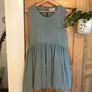 Urban Outfitters Blue Baby Doll Dress